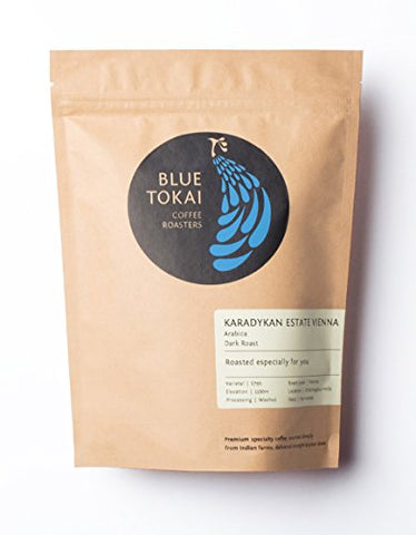 Blue Tokai Coffee Roasters Vienna Roast - 250 Gm (French Press)