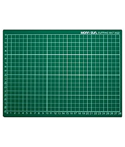"Flexible Cutting Mat A/3 Size With Marked Pattern And Grids (18"" X 12"") 