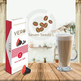 VERO | Seven Seeds | Nespresso Compatible Coffee Capsules | Intensity - 8 (10 Capsules)
