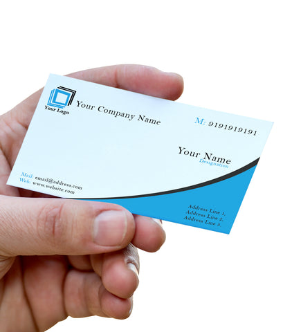 Blue Swish | Business Card