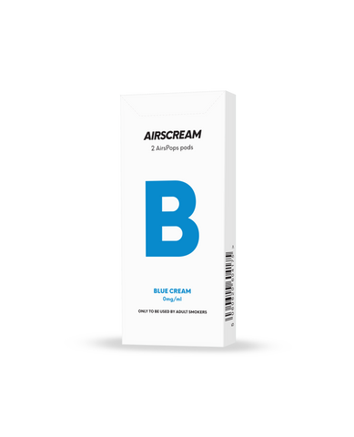 AIRSCREAM AirsPops Catridge (2 PODs) - Blue Cream - Australia Vape Company