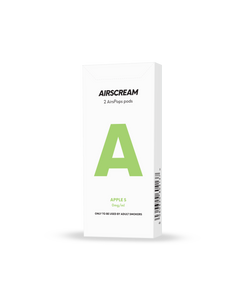 Airscream AirsPops Cartridge (2 Pods) - APPLE S - Australia Vape Company