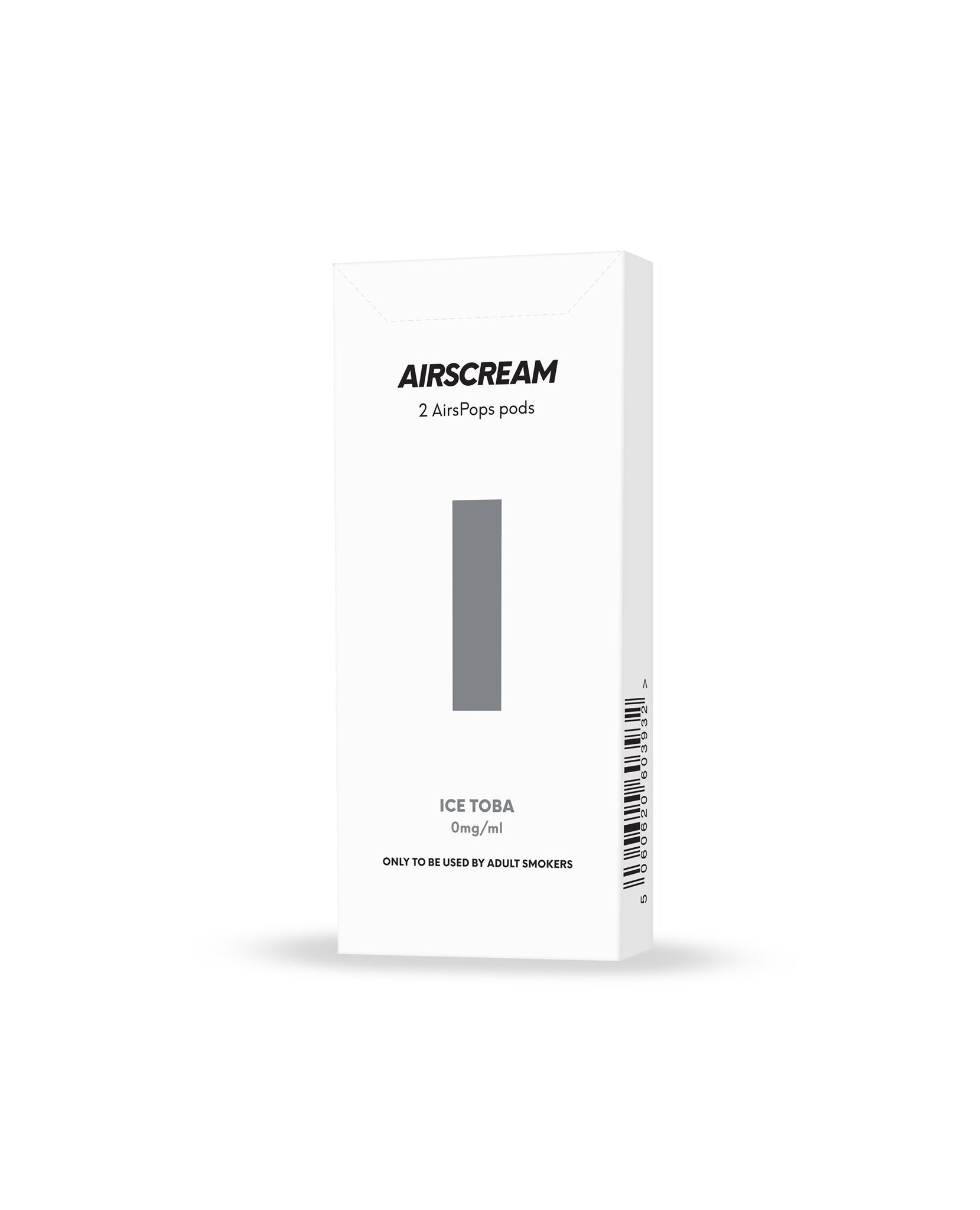 Airscream AirsPops Cartridge (2 Pods) - ICE TOBA - Australia Vape Company
