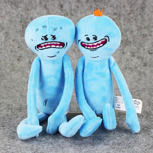 25cm 2 Styles Rick and Morty Plush Happy Sad Meeseeks