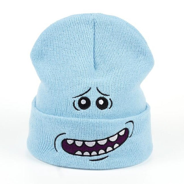 Mr. Meeseeks Winter Knitted Hat