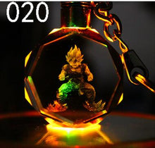 Dragon ball Z  Crystal key chain pendant