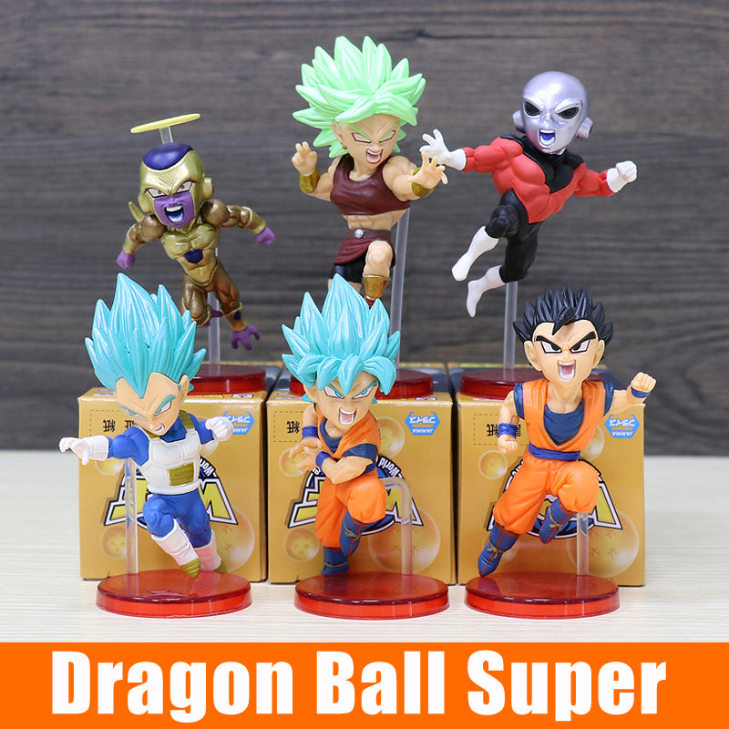 HOT Comic and Animation Dragon Ball Super strongest universe mini set