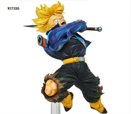 Dragon Ball Z DBZ World Figure Colosseum  Trunks colletible (4.5in)