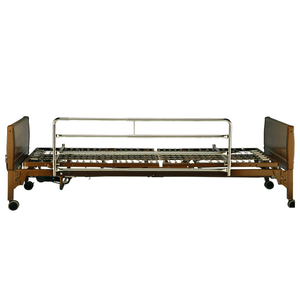 Invacare Chrome Plated Full-Length Bed Rails (6629) - sold by Dansons Medical - Bed Rails manufactured by Invacare