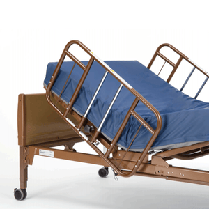 Invacare Clamp-On Half-Length Bed Rails (6630DS) - sold by Dansons Medical - Bed Rails manufactured by Invacare