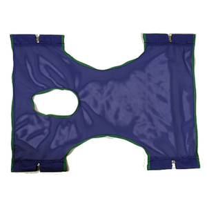 Invacare Basic Mesh Sling with Commode Opening - sold by Dansons Medical - Toileting Slings manufactured by Invacare