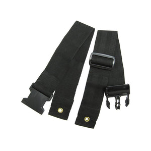 Karman 2-Piece Wheelchair Seat Belt - sold by Dansons Medical - Wheelchair Accessories manufactured by Karman Healthcare