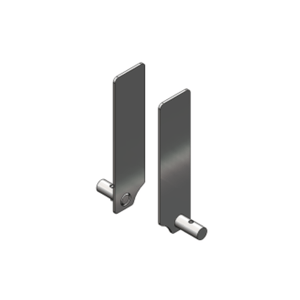 E-Track End Cover for Luna Ceiling Lift (2-Pack) - sold by Dansons Medical - Ceiling Lift Track Parts manufactured by Bestcare