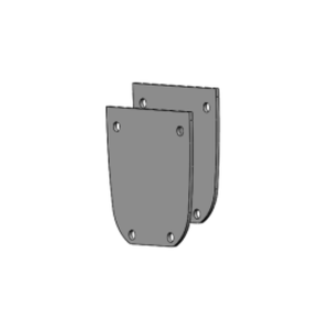 End Cover Set for Luna Ceiling Lift (75mm) - sold by Dansons Medical - Ceiling Lift Track Parts manufactured by Bestcare