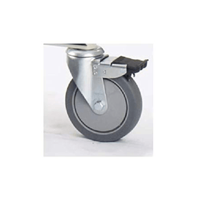 "Invacare 5"" Rear Caster w/ Brake (1ea) - sold by Dansons Medical - Lift Casters manufactured by Invacare"