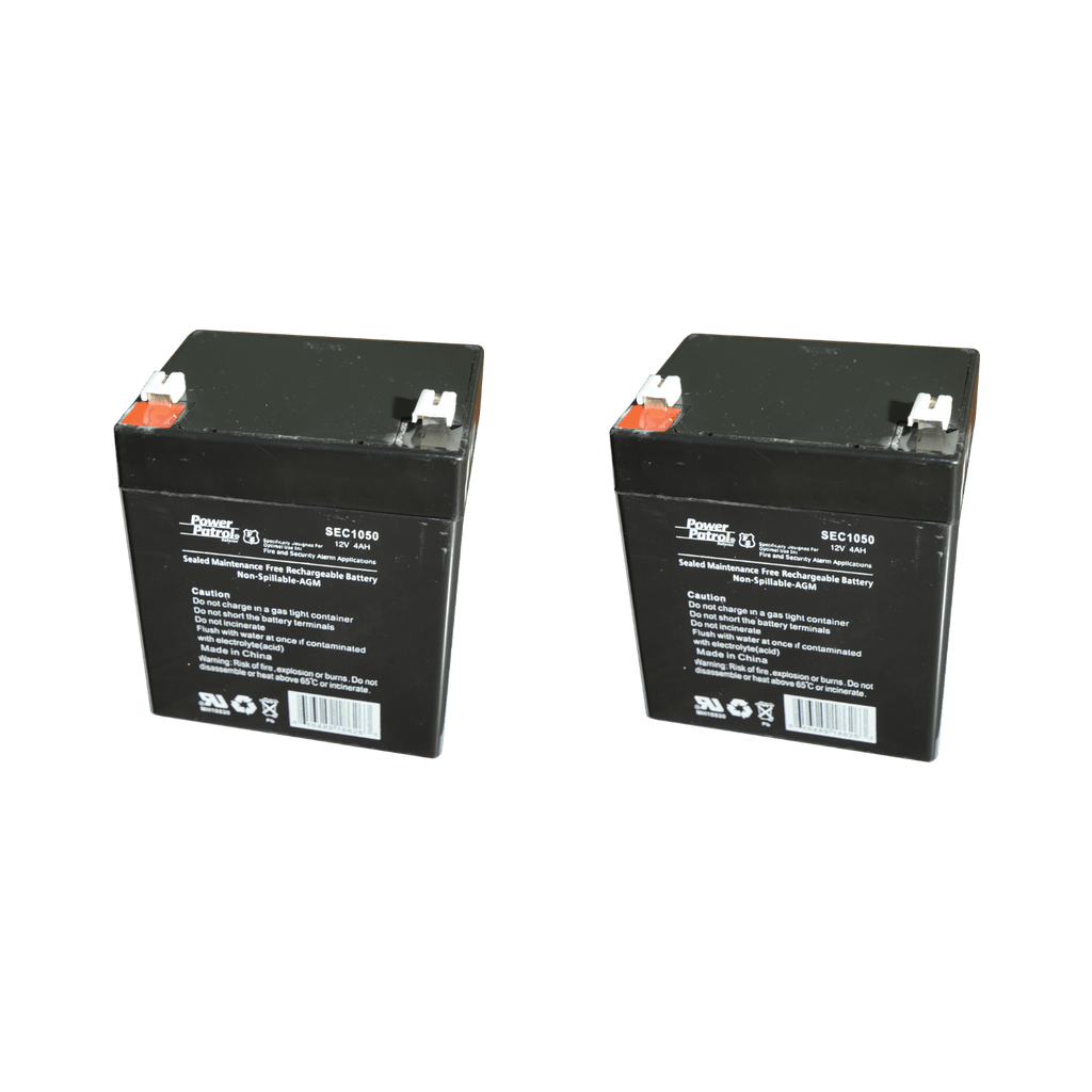 Electric Lift Batteries (2-Pack) - sold by Dansons Medical - Control Box and Batteries manufactured by Bestcare