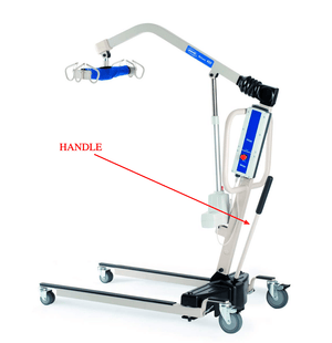 Invacare Reliant Handle Bar (1078287) - sold by Dansons Medical - Parts and Accessories manufactured by Invacare