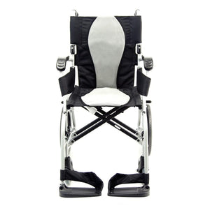 Karman Ergo Flight Transport Wheelchair - sold by Dansons Medical - Ergonomic Wheelchairs manufactured by Karman Healthcare