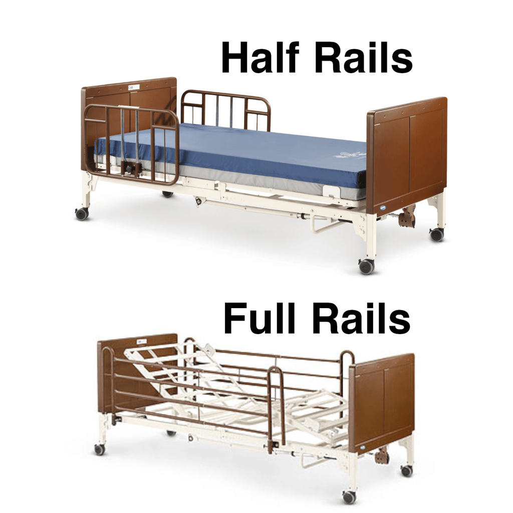 Invacare Bed Rails for G-Series Beds (G29-G30) - sold by Dansons Medical - Bed Rails manufactured by Invacare