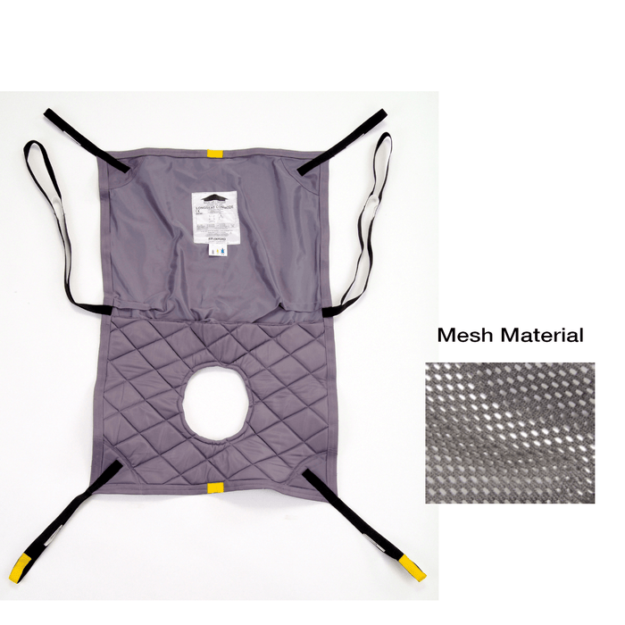 Hoyer Long Seat Mesh Sling w/ Commode Opening