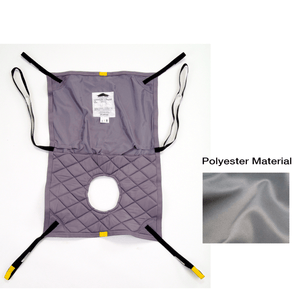 Hoyer Long Seat Polyester Sling w/ Commode Opening - sold by Dansons Medical - Full Body Slings manufactured by Joerns