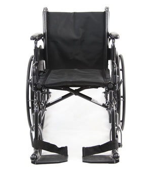 Karman Lightweight Deluxe Wheelchair (LT-700) - sold by Dansons Medical - Folding Wheelchairs manufactured by Karman Healthcare