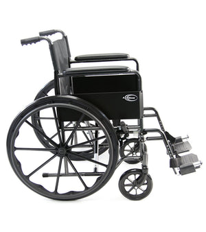 Karman Lightweight Deluxe Wheelchair (LT-800) - sold by Dansons Medical - Folding Wheelchairs manufactured by Karman Healthcare