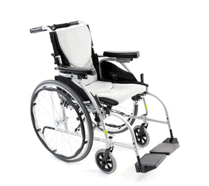 Karman S-Ergo 106 Lightweight Wheelchair with Adjusting Backrest Angles - sold by Dansons Medical - Ergonomic Wheelchairs manufactured by Karman Healthcare