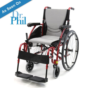 Karman S-Ergo 115 Lightweight Ergonomic Wheelchair - sold by Dansons Medical - Ergonomic Wheelchairs manufactured by Karman Healthcare