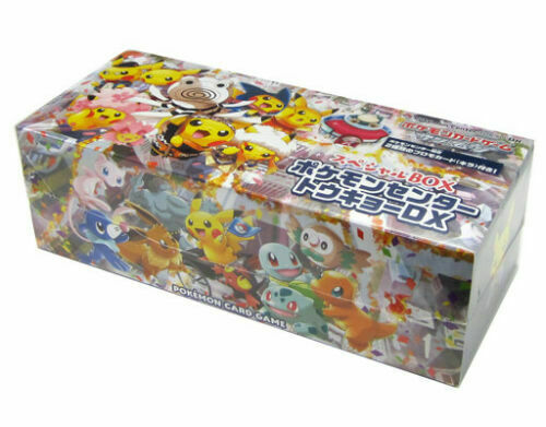 Pokemon Center Tokyo DX Special Box JAPAN OFFICIAL IMPORT