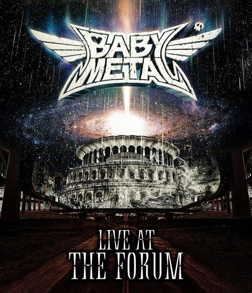 BABYMETAL-LIVE AT THE FORUM-JAPAN BLU-RAY R38 JAPAN OFFICIAL IMPORT