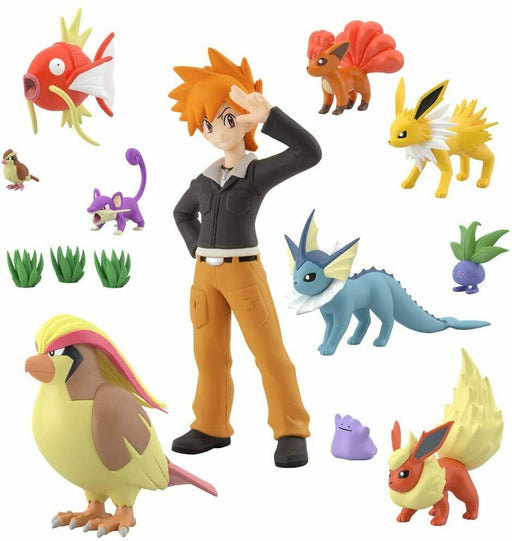 BANDAI Pokemon Scale World Kanto Vol.2 set of 6 type JAPAN OFFCIAL IMPORT