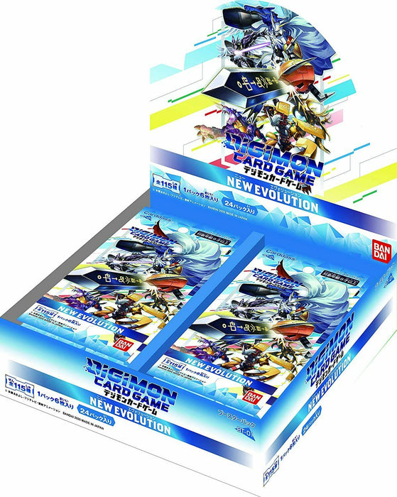 BANDAI Digimon Card Game Booster New Evolution Sealed Box BT-01 JAPAN OFFICIAL