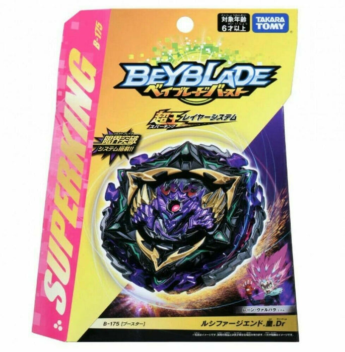 TAKARA TOMY Beyblade Burst B-175 Superking Booster Lucifer End. Emperor. Dr.