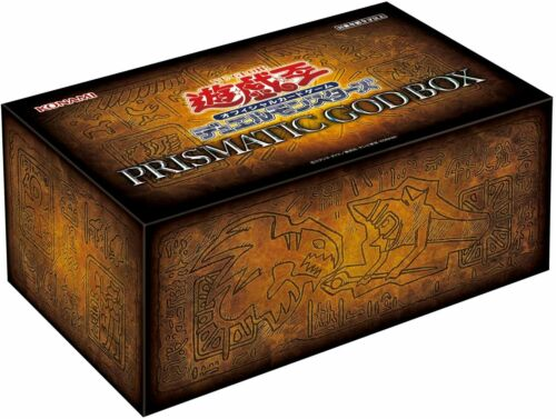 Yu-Gi-Oh OCG Duel Monsters PRISMATIC GOD BOX 3 BOX SET JAPAN OFFICIAL IMPORT