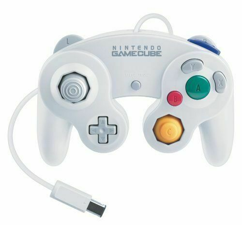 Used Nintendo Classic Gamecube Controller White JAPAN OFFICIAL IMPORT