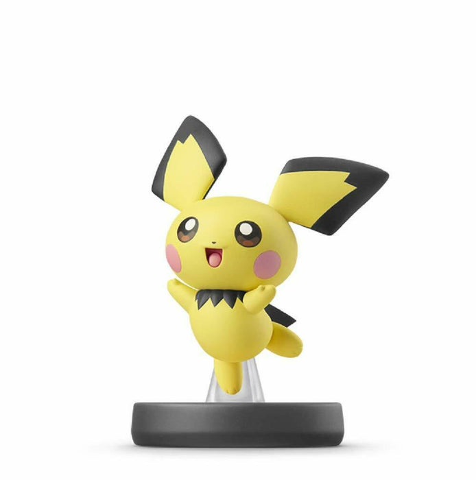 NEW Nintendo amiibo Pichu Pokemon Trainer Super Smash Brothers Series Set JAPAN