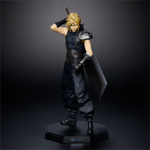 Square Enix FINAL FANTASY VII 7 REMAKE Kuji Cloud Strife Aerith Figure set of 2