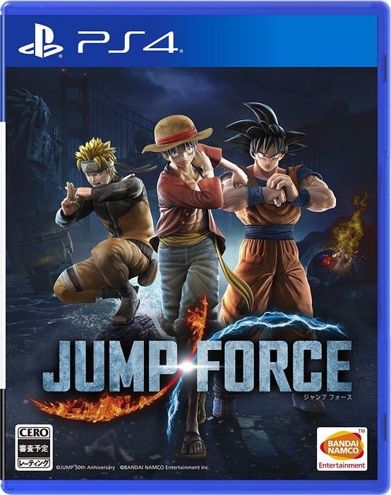 NEW PS4 JUMP FORCE PlayStation 4 SONY JAPAN OFFICIAL IMPORT