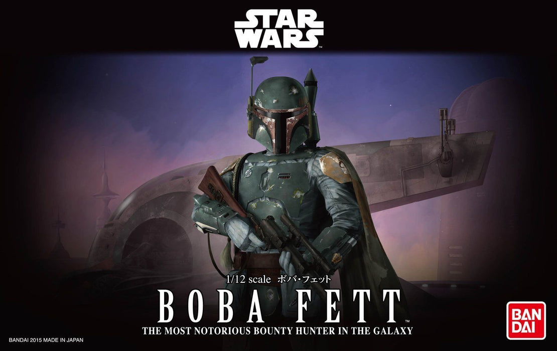 BANDAI Star Wars The Boba Fett 1/12 scale model kit Plastic Model JAPAN OFFICIAL