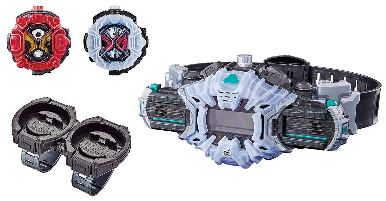 BANDAI Kamen Masked Rider Zi-O DX Ziku Driver & Ride Watch Holder set GIAPPONE