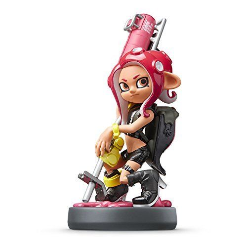 NEW Nintendo amiibo Splatoon series Taco(octopus) Girl JAPAN OFFICIAL IMPORT