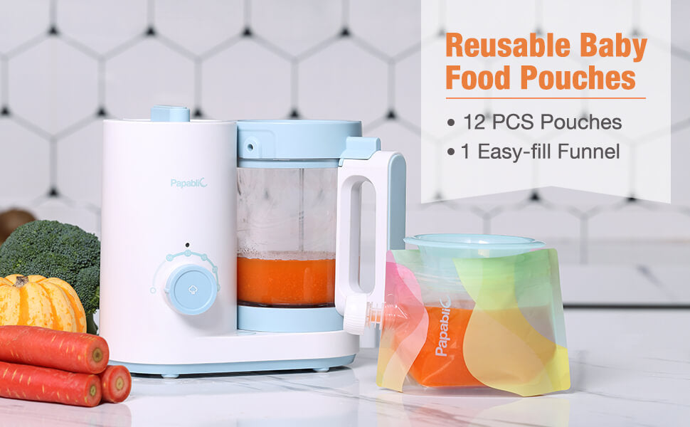 Papablic Reusable Baby Food Pouch