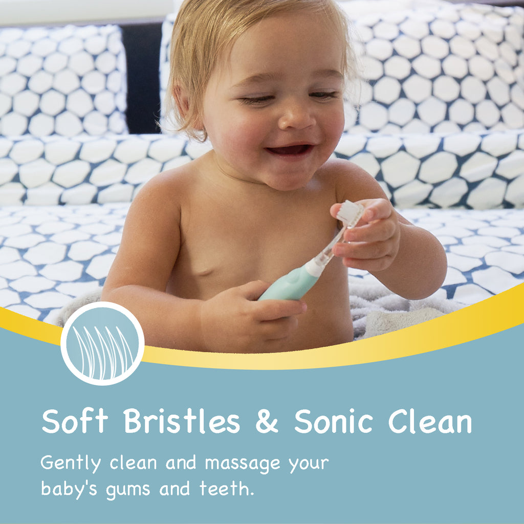 [18–36 Months]BabyHandy Sonic Electric Replacement Brush Heads - Papablic INC.