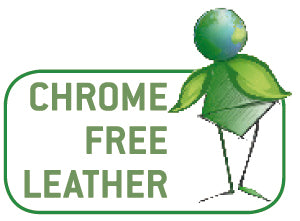 Chrome free leather