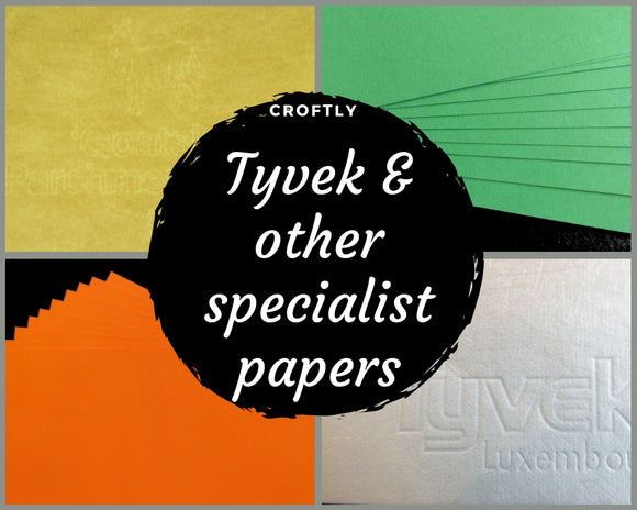 Tyvek© Paper, Goatskin© Parchment and other Specialist Paper