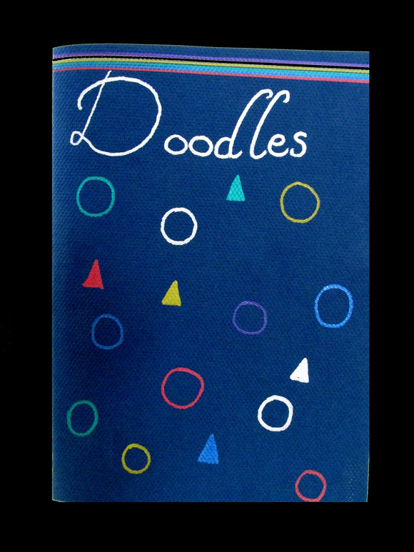 The Doodles Metallic Collection A6 Handmade Notepads