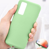 Solid Color Liquid Silicone Soft Phone Case Back Cover for Samsung Galaxy S20 FE/S20 Ultra