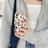 Fashion Leopard Soft TPU Silicone Phone Case Back Cover for iPhone 12 Pro Max/12 Pro/12/12 Mini/SE/11 Pro Max/11 Pro/11/XS Max/XR/XS/X/8 Plus/8/7 Plus/7