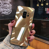 Ladycases - Phone Case Expert - 3D Mirror Diamond Glitter Phone Case Back Cover for Samsung Galaxy S20 Ultra/S20 Plus/S20/S10E/S10 Plus/S10/S9 Plus/S9/S8 Plus/S8/Note 10 Pro/Note 10/Note 9/Note 8